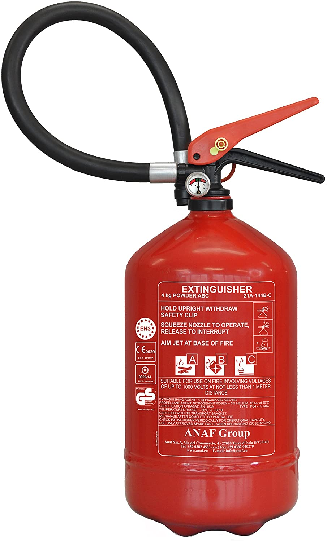 ANAF FIRE EXTINGUISHER 4KG- ABC DRY POWDER